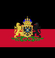 flag of nijmegen of gelderland netherlands vector image vector image