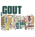 gout diet may help you lose weight text vector image vector image