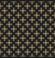 luxury ornament background black and gold elegant vector image vector image