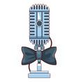 microphone icon cartoon vector image vector image