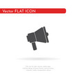 speaker icon for web business finance and vector image