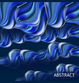 trendy abctract colorful flow poster baner vector image vector image