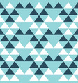 triangle geometric seamless pattern repeat vector image vector image