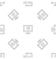 video online pattern seamless vector image vector image