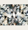 abstract grey geometric background vector image vector image