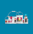 flat design icons set of painting vector image vector image
