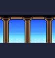 pixel art heavens vector image vector image