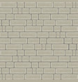 cemented brick background with block architecture vector image
