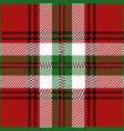 Christmas tartan plaid pattern