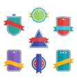 Collection of Abstract Label Sticker Tags vector image vector image