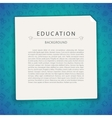 Colorful Education Background with Copy Space