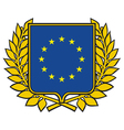 european union emblem vector image
