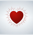heart icon love symbol valentine s day sign vector image
