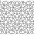 Islamic girih pattern background vector image vector image