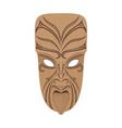 Maori mask vector image