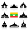 Myanmar Icon vector image
