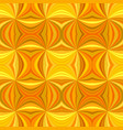 orange seamless abstract hypnotic curved ray vector image vector image