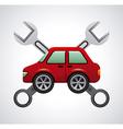 repair car design vector image
