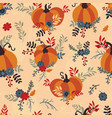 seamless pattern for thanksgiving celebration of vector image