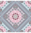 Turkish rug style seamless pattern vector image