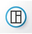 window icon symbol premium quality isolated glass vector image