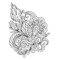 Decorative paisleys element collection vector image