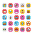 baby and kids colored icons 2 vector image vector image