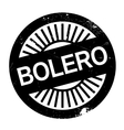 Famous dance style bolero stamp vector image