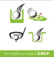Golf icon symbol vector | Price: 1 Credit (USD $1)