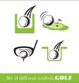 Golf icon symbol