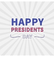 Gray sunburst with ray of light Presidents Day vector image vector image