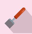 honey tool icon flat style vector image vector image