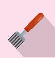 honey tool icon flat style vector image