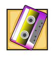 retro tape clip art vector image vector image