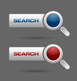 Search buttons vector | Price: 1 Credit (USD $1)