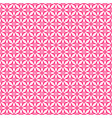 tile pattern with pink print on white background vector image vector image