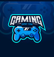 controller gaming vector image