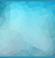dark blue color polygon background design vector image