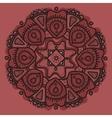 Element seamless pattern Hand drawn flower vector image