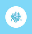 ice icon sign symbol vector image
