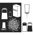 Salt Pepper vector image