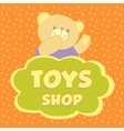 Toys shop Background vector image vector image