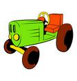 tractor icon cartoon vector image