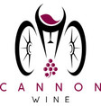 abstract icon design template of wine bottles and vector image vector image