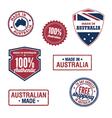 Australian stamps vector image vector image