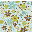 Colorful summer seamless pattern vector image vector image