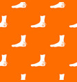 foot heel pattern seamless vector image vector image