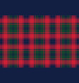 plaid tartan fabric texture pixel seamless pattern vector image vector image