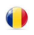 Round Flag Icon vector image