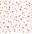 seamless background with golden and pink vector image vector image
